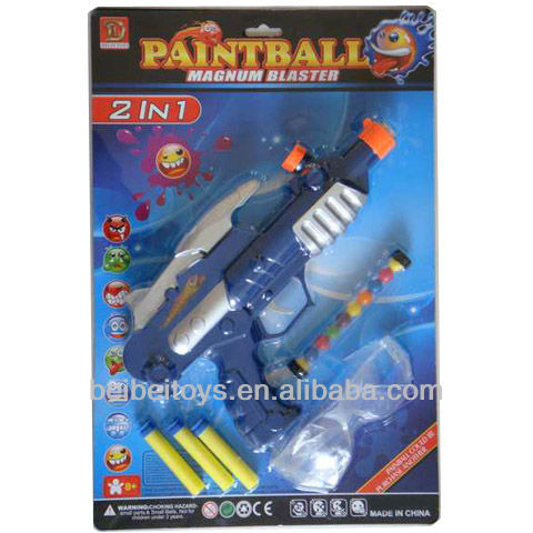 IN 1 Kids Paintball Guns for Sale with Paintball Marker and EVA Foam ...