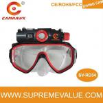 15M Waterproof Mini Underwater Scuba Dive Mask Video Camera