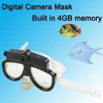 2.0MP Underwater Camcorder Scuba Diving Mask, Bulit in 4GB Memory, 20m Water Reslstant (CSDVR, Support SD Card, AVI Video Format