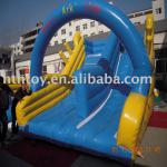2013 Best selling Giant Arch people play cheap inflatable water slides for sale
