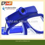 2013 best selling liquid silicone diving mask with camera