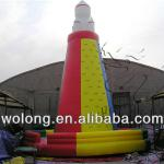 2013 exciting inflatable climbing wall