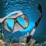 2013 hot selling diving snorkel mask set