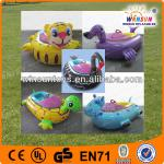 2013 kids electric tortoise inflatable water bump boat