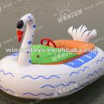 2013 kids play inflatable swan pedal boat