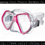 2013High Quality Waterproof Adult Silicone Diving Mask