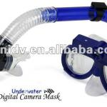 640*480 AVI Video Recording Diving Mask with Built-in Memory(4GB)