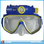 720P Recording Under Water /Underwater Waterproof Diving Mask Video Sports ,Supporting USB drive and 32GB SD card