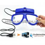 act20 skiing goggles mini camera / Scuba Diving Mask