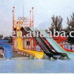 Amusement equipment water park water slides
