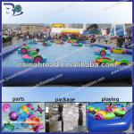 Best quality customized size 0.9mm pvc water play equipment