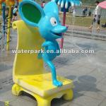 Cartoon Beauty Chair Mouse-Water Play Structure