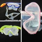 Child silicone diving mask