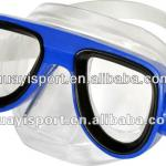 Custom safety kids professional sea durable free tempered glass diving masks