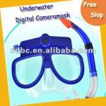 Dive Camera Mask,Scuba Diving Mask HD Camcorder and Snorkel