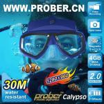 diving mask, 4GB flash memory,support max 32GB