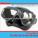 Double lense China Scuba dive mask, optical lense spearfish mask