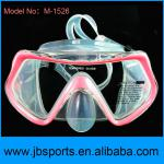 Eco-Friendly silicone professional diving mask with any Color