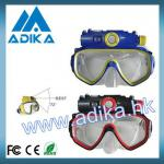 Fine Workmanship 720P HD Diving Digital Camera Mask With screen ADK-S707A