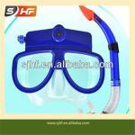 Full Face Diving Mask With Snorkel Fins /Scuba Diving Set -DVR08B