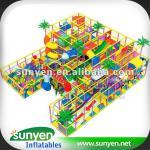Funny Indoor Playground,children's slide sy6804
