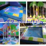 GMB-D indoor play structure for children's sports area