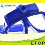 HD waterproof diving mask camera 10 meters