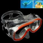 High Quality Diving Mask Glasses with Box