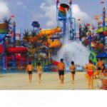High Quality Funny Park Fiber Glass Water Slide