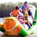 Inflatable water children ship