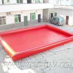 inflatable water pool for play equipment D2006