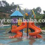 large water slide LY-052A