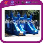 magic blue park play cheap inflatable water slides for sale