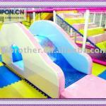 Play ground amusement equipment water slide