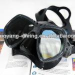Quality dive mask, carbon fiber scuba diving mask