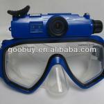RD34 II waterproof 1080p Underwater Digital Camera Mask, Diving Mask DVR with HD video digital Camera