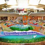 Resorts themed children play area