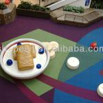 restaurant themed children play area