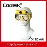 Scuba diving video mask camcorder