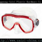 Tempered Glass Myopic Diving Mask/Diving Set With Snorkel