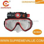 USB2.0 High speed underwater diving mask camera with 15m waterproof