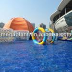 water play equipment cylinder water roller ball