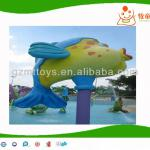 water play games, water golden fish