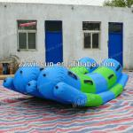 WinSun interesting play large inflatable games water seesaw